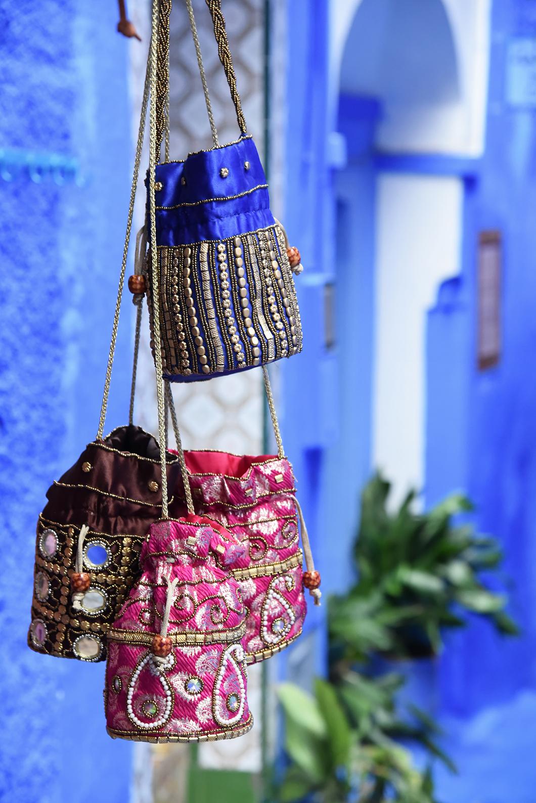 Souks de Chefchaouen au Maroc
