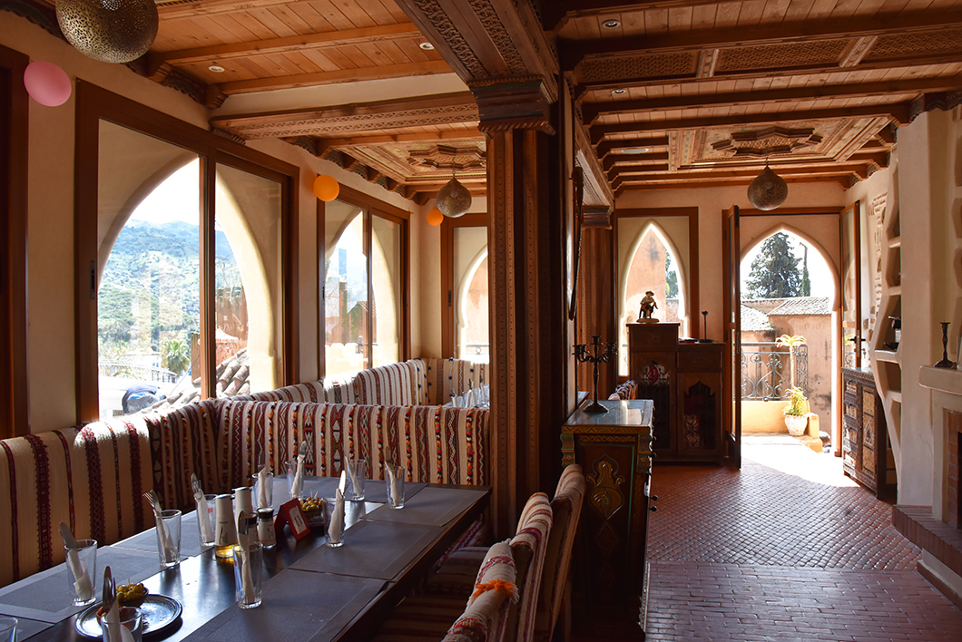 Chez Hicham - joli restaurant avec terrasse à Chefchaouen