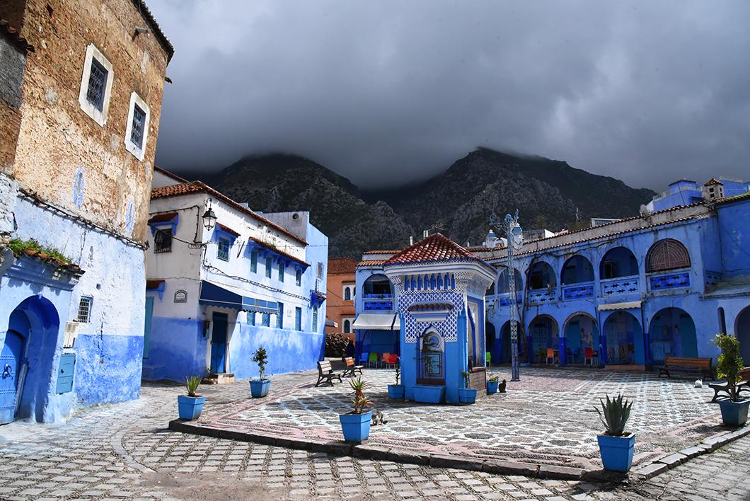 La Plaza el Hauta à Chefchaouen