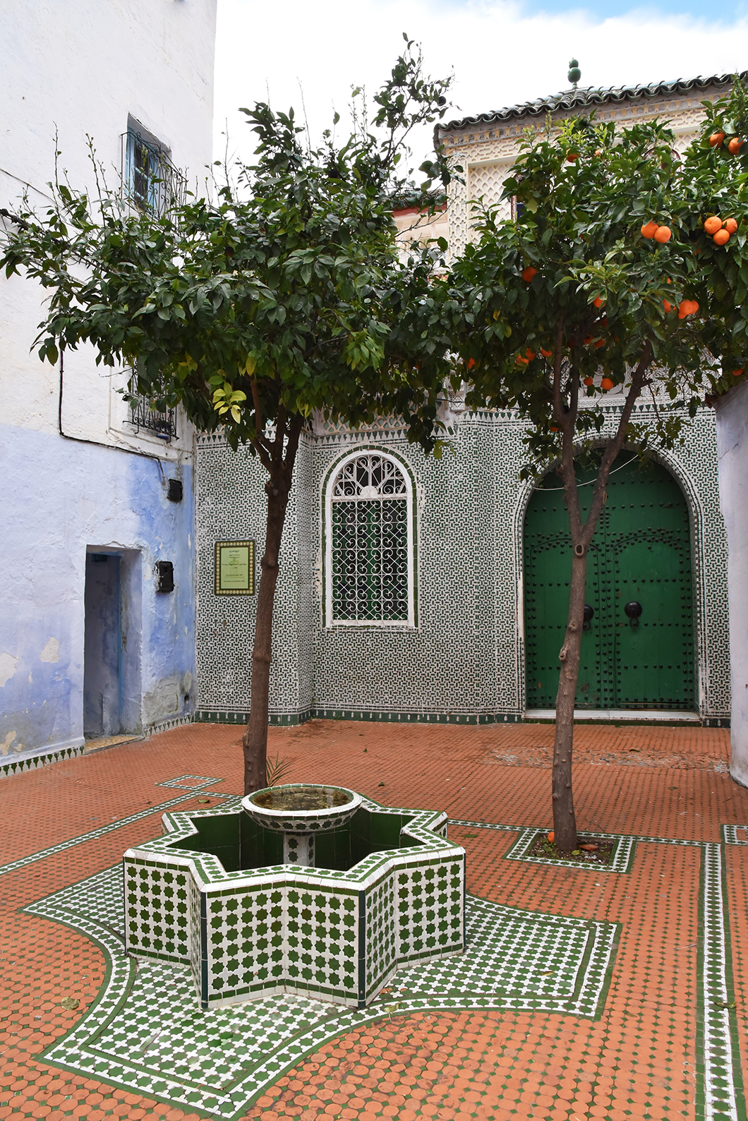 Place Outa el Hammam à Chefchaouen