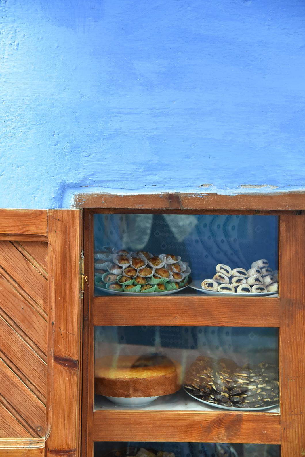 pâtisseries marocaines à Chefchaouen