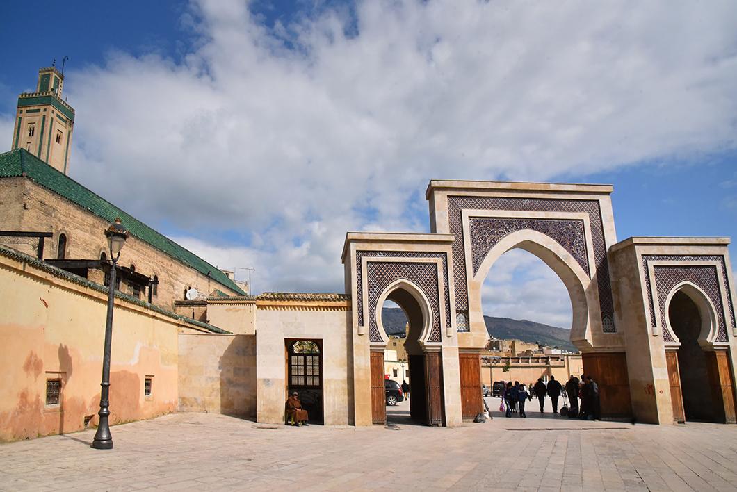 Bab Bou Jeloud - porte bleue de Fès