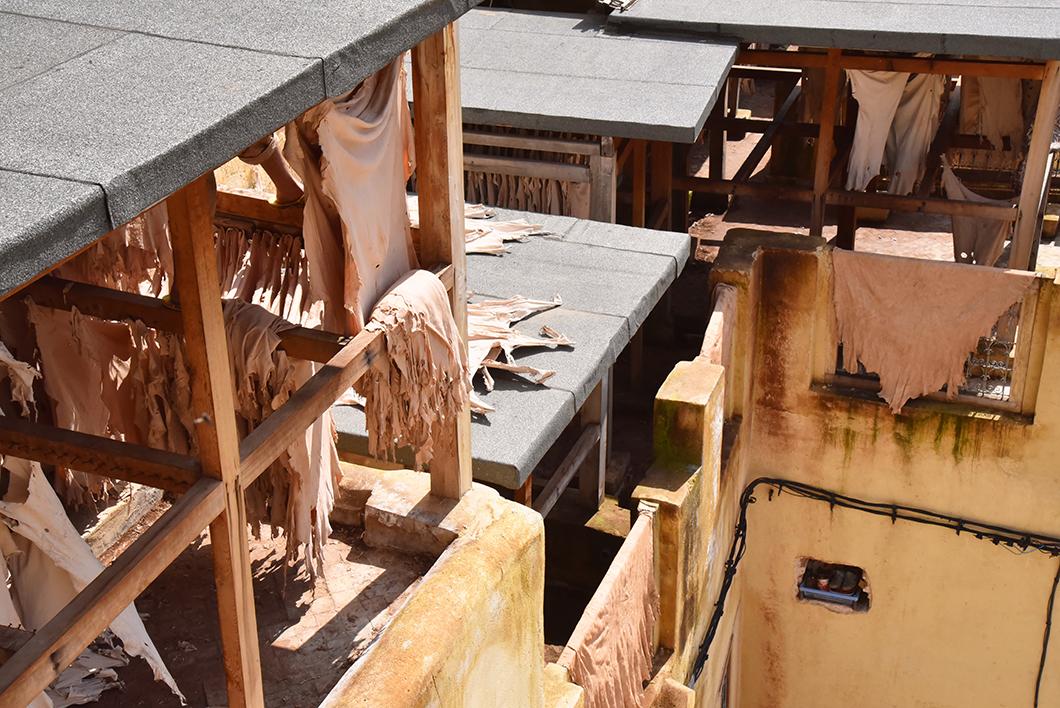 Visiter le quartier des tanneurs à Fès