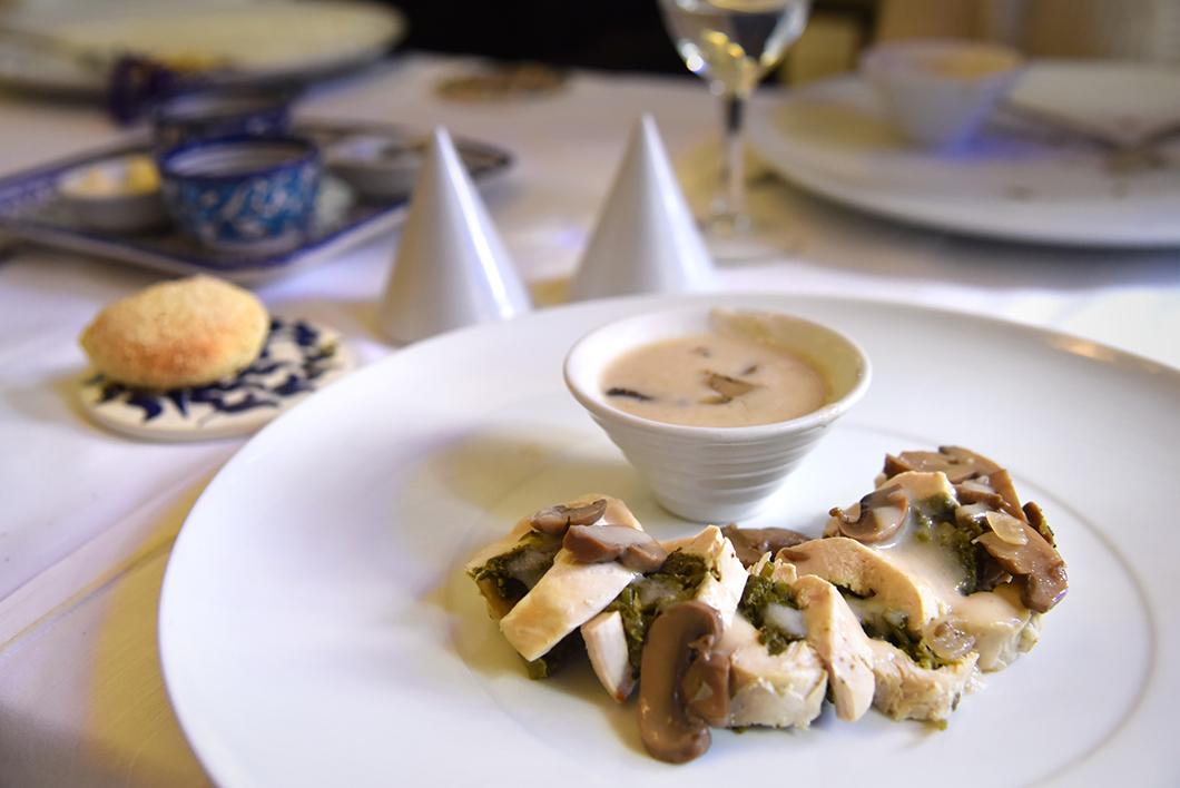 Palais Amani, délicieux restaurant à Fès