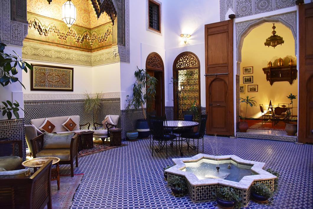 Riad Zamane, chambres l'hôtes de luxe à Fès