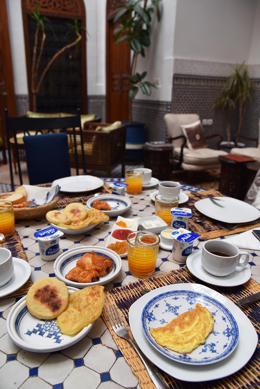 Riad Zamane Fès, hotel de charme avec petit déjeuner