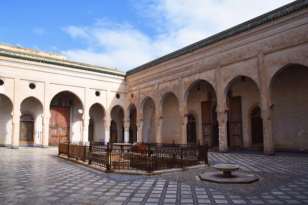 Palais El Glaoui - Visites incontournables à Fès