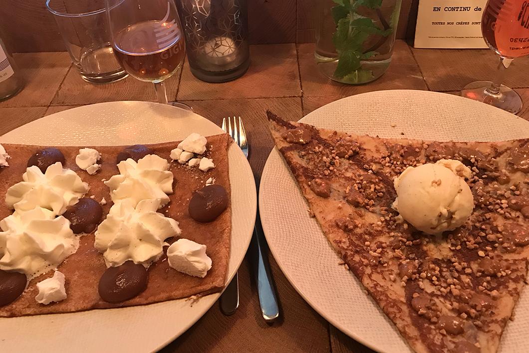 Gigi crêperie - Où manger des crêpes à Paris ?