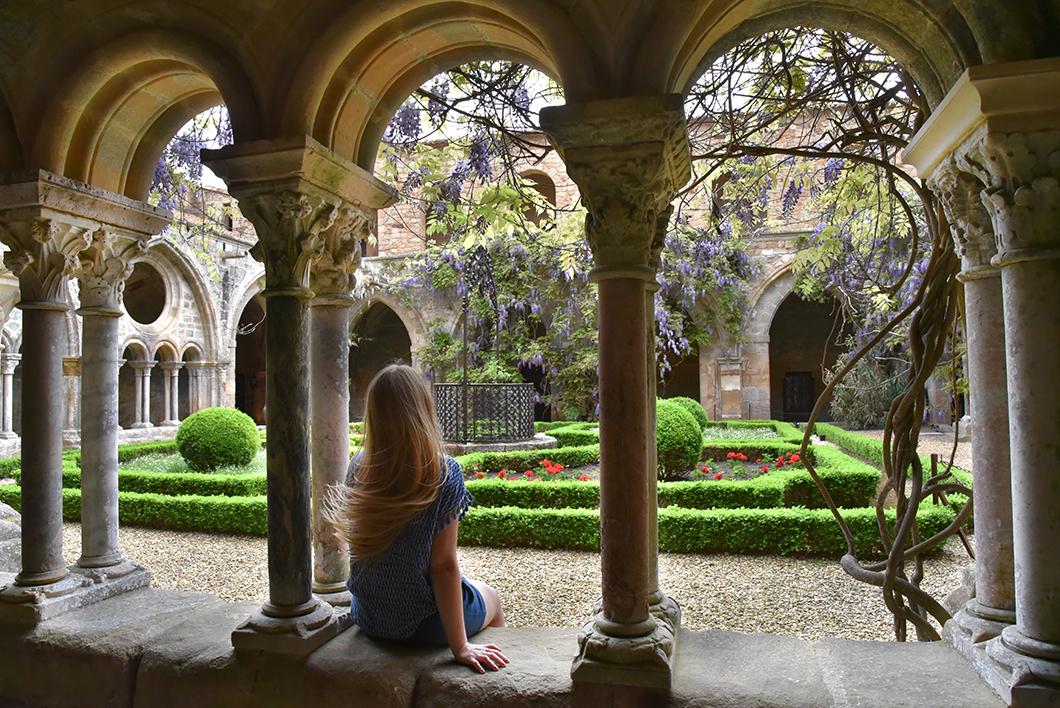 Un week end dans l'Aude - L'Abbaye de Fontfroide