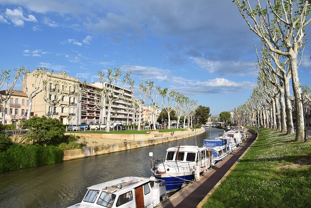 Visiter Narbonne sur le littoral de l'Aude
