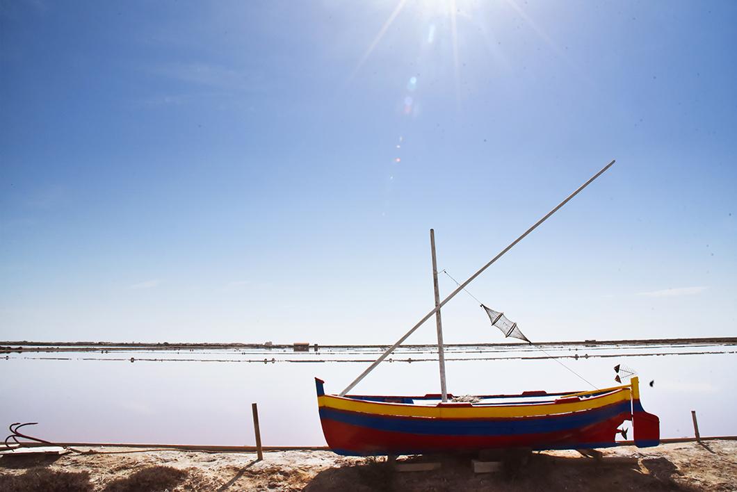 Salin de l'île Saint-Martin à Gruissan - Littoral de l'Aude