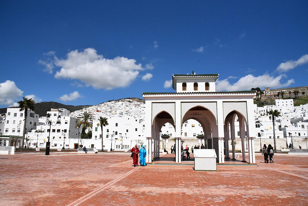 Place El Feddane à Tétouan
