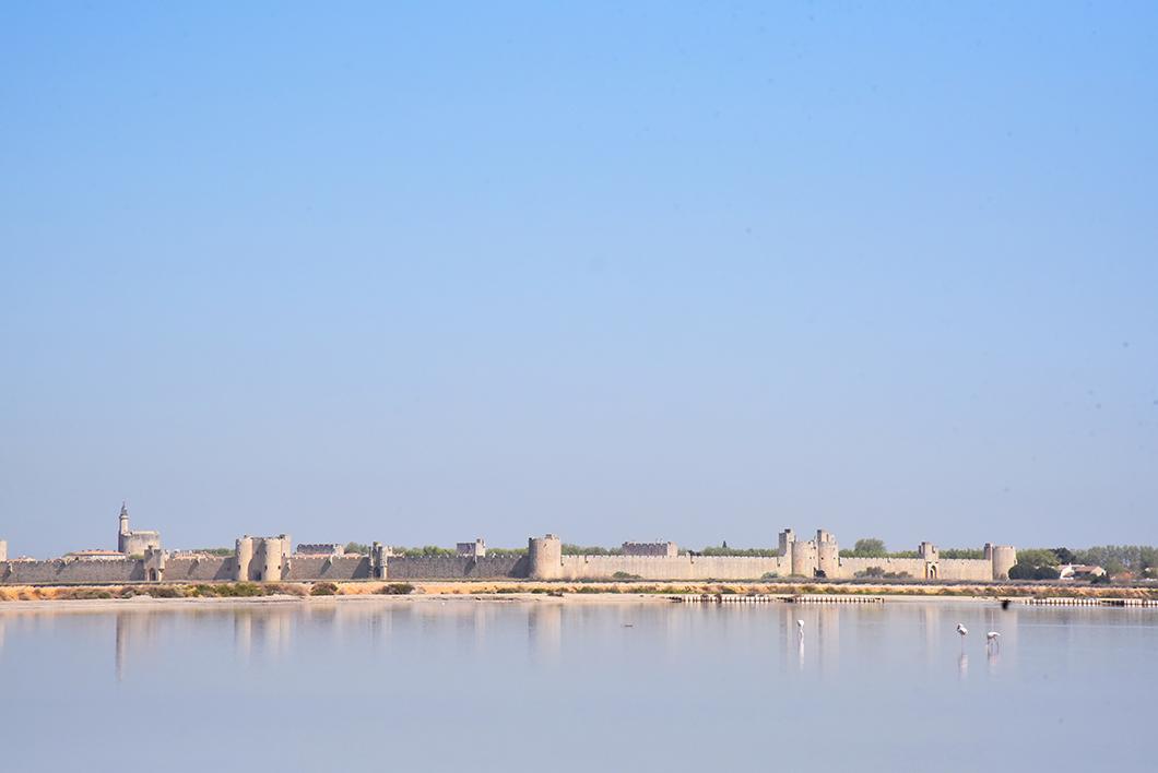 Visite des Salins d'Aigues-Mortes - Un week end en Camargue