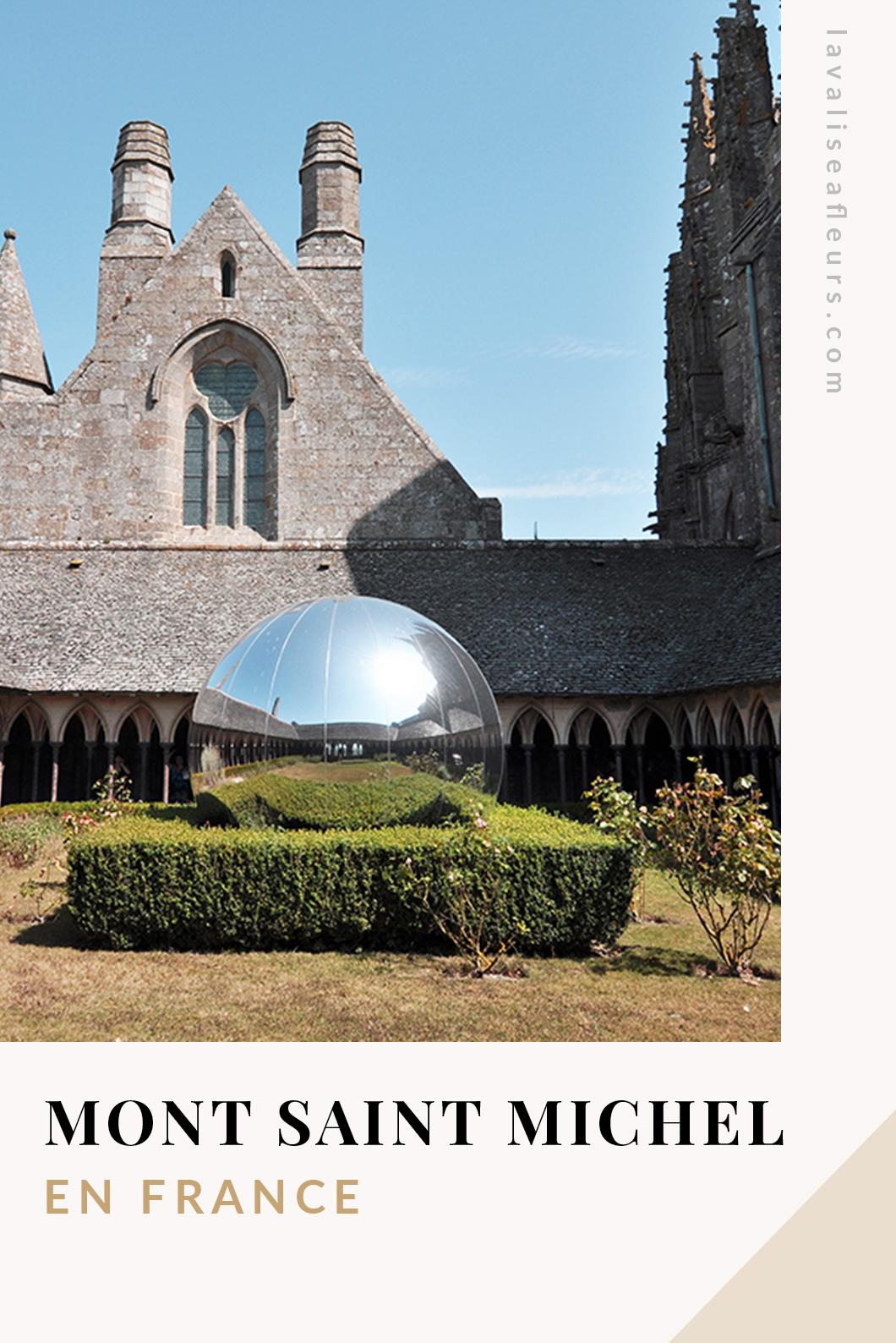 Découvrir le Mont Saint MIchel en France