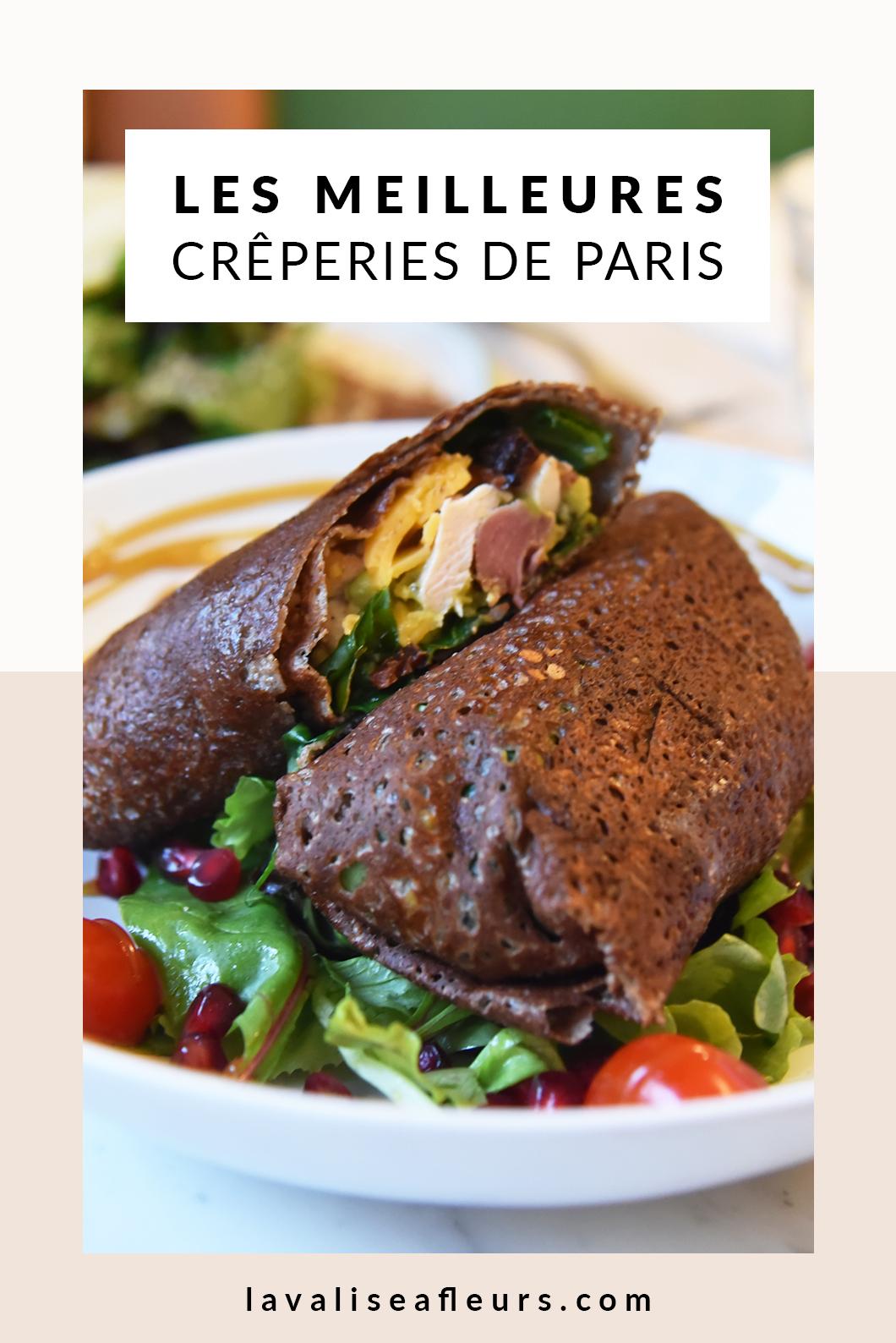 Top des meilleures crêperies de Paris