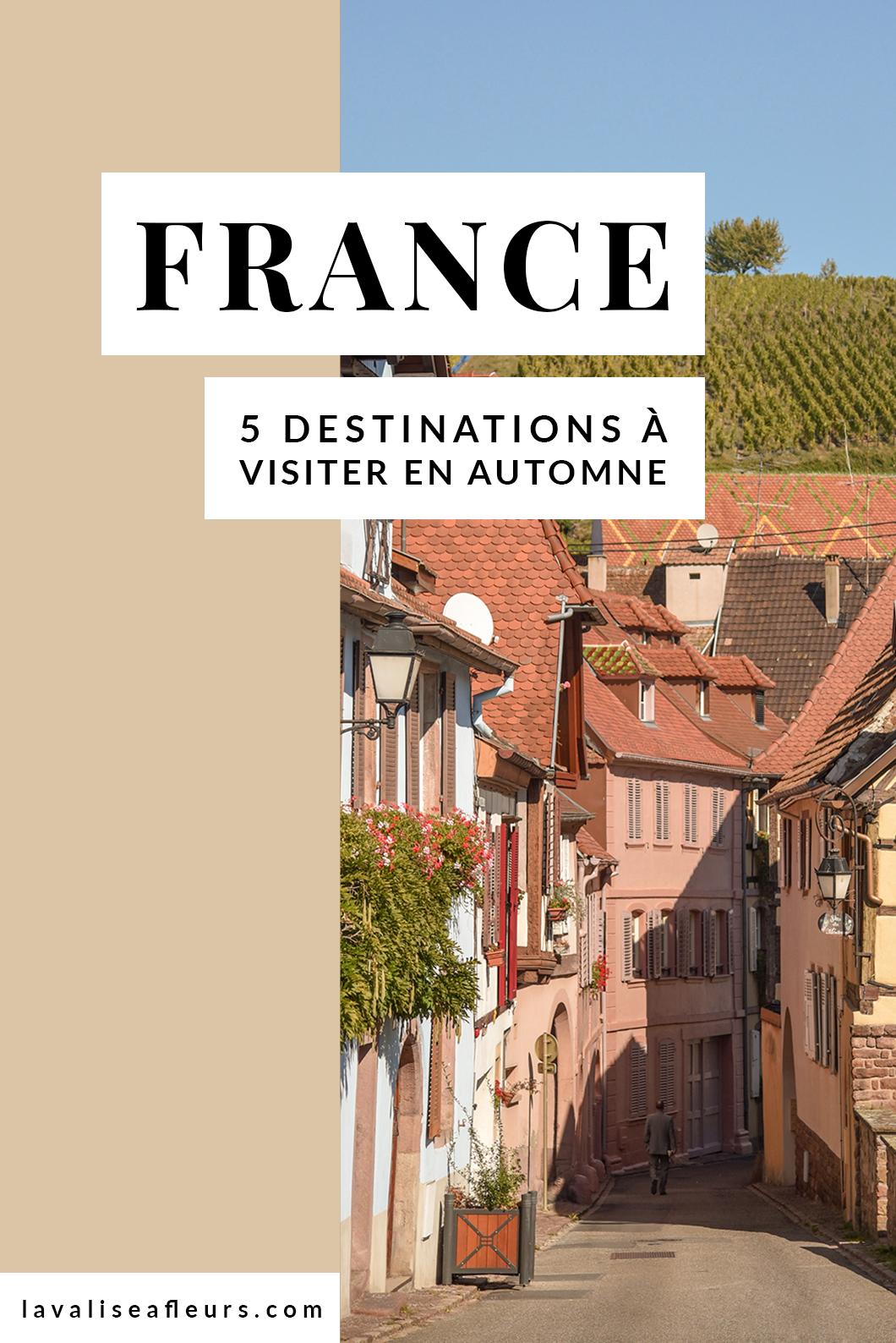 5 destinations françaises à découvrir en automne