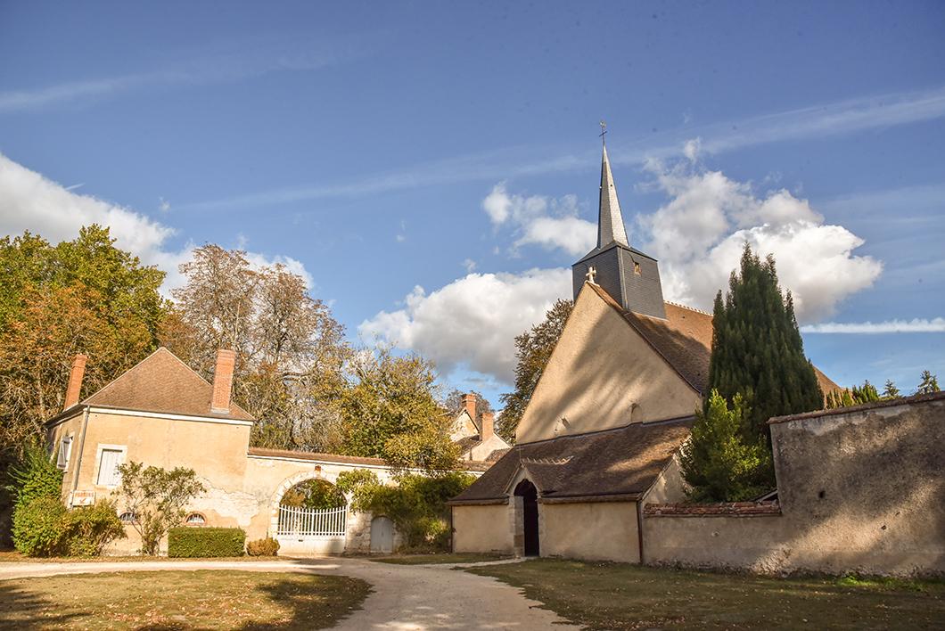 Église Romane de Brinay
