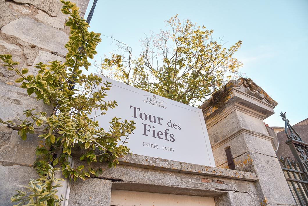 La tour des fiefs à Sancerre - Berry