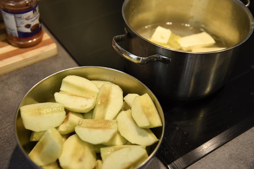 Cours de cuisine au Marmiton Berrichon - La tarte tatin !