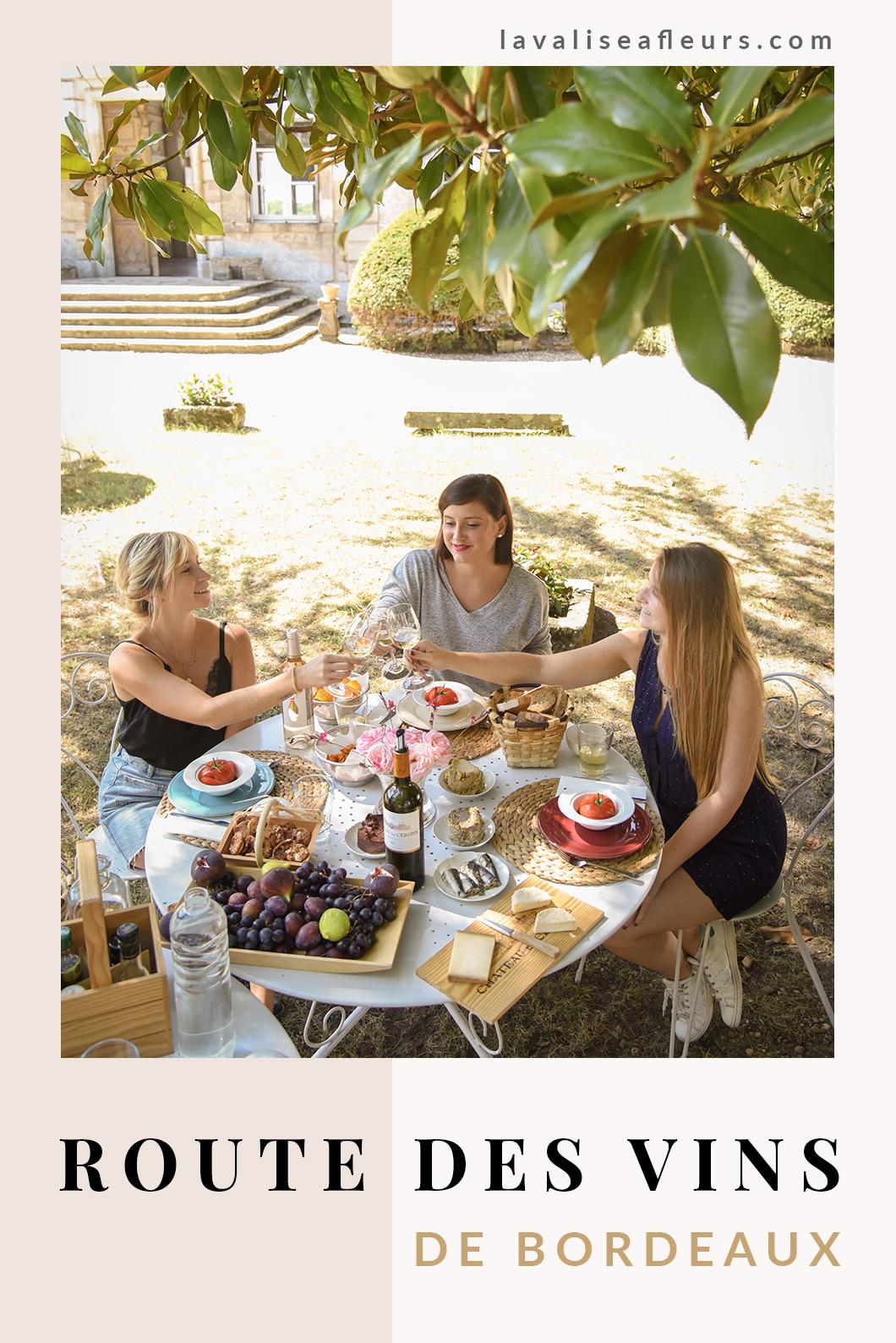 Oenotourisme sur la route des vins de Bordeaux en France