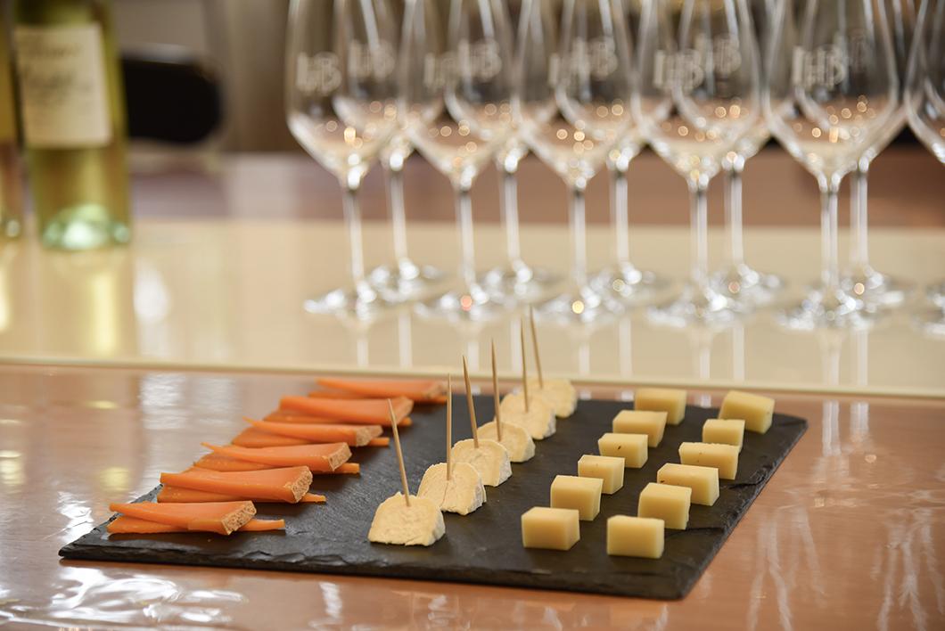Accord vins et fromages au Château Larrivet Haut-Brion