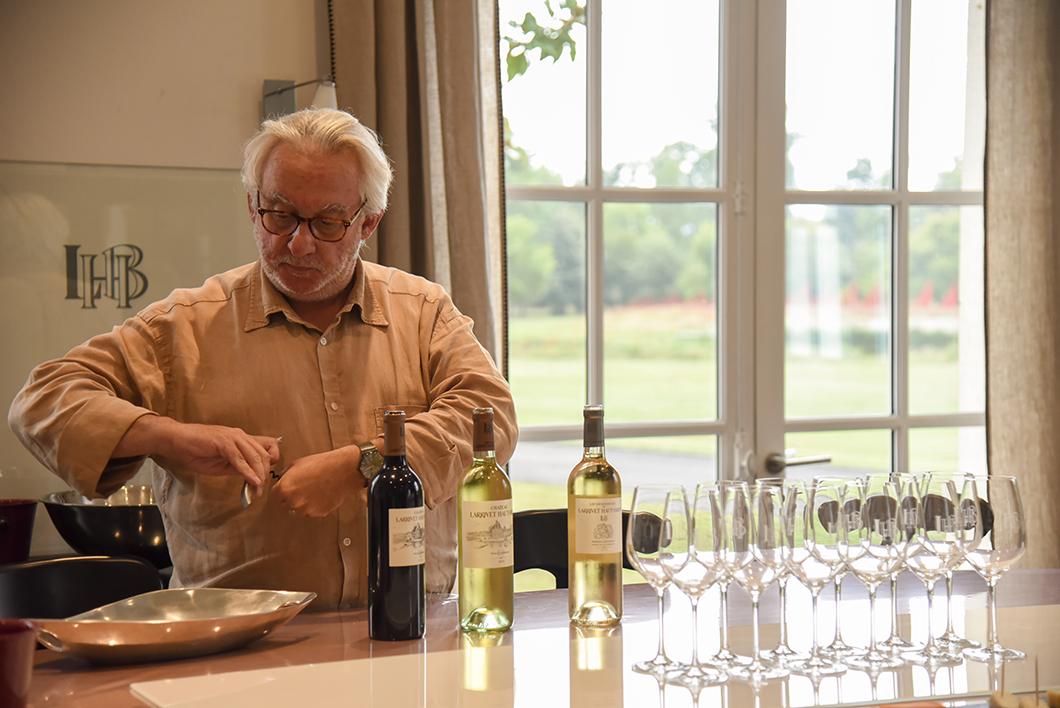 Accord vins et fromages avec Bruno Lemoine au Château Larrivet Haut-Brion