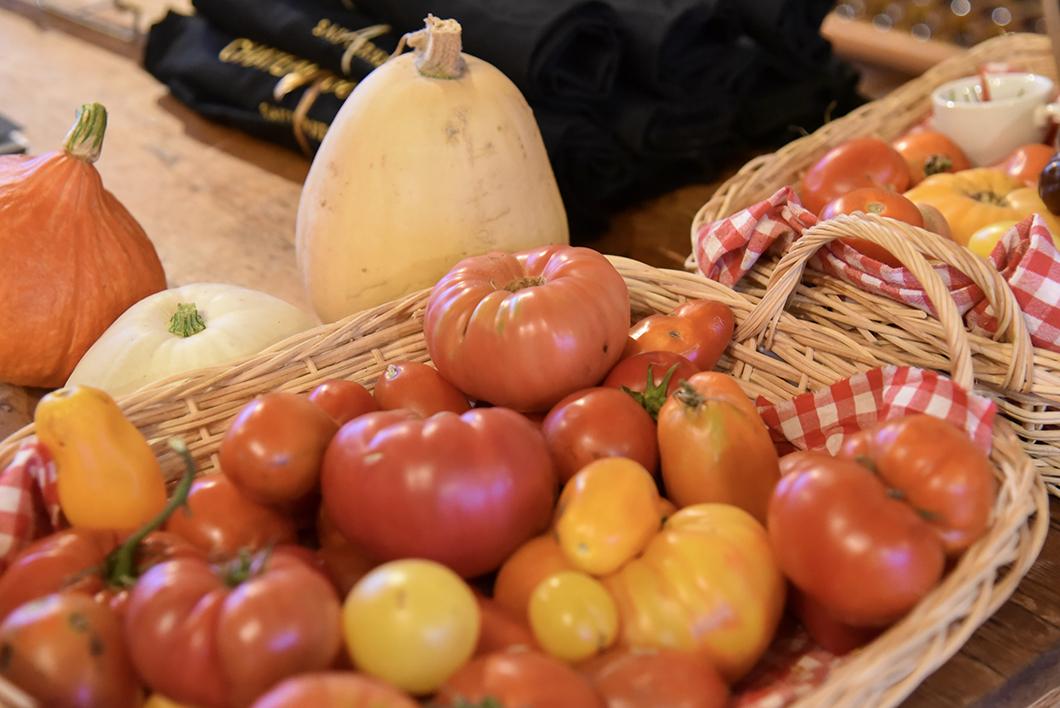 Tomates du jardin du Château Guiraud - Route des Vins de Bordeaux en Graves et Sauternes
