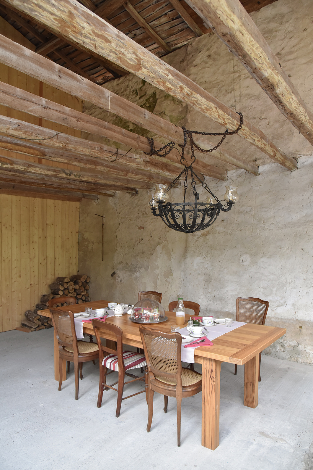 Petit déjeuner de la Cordonnerie, à Villandraut