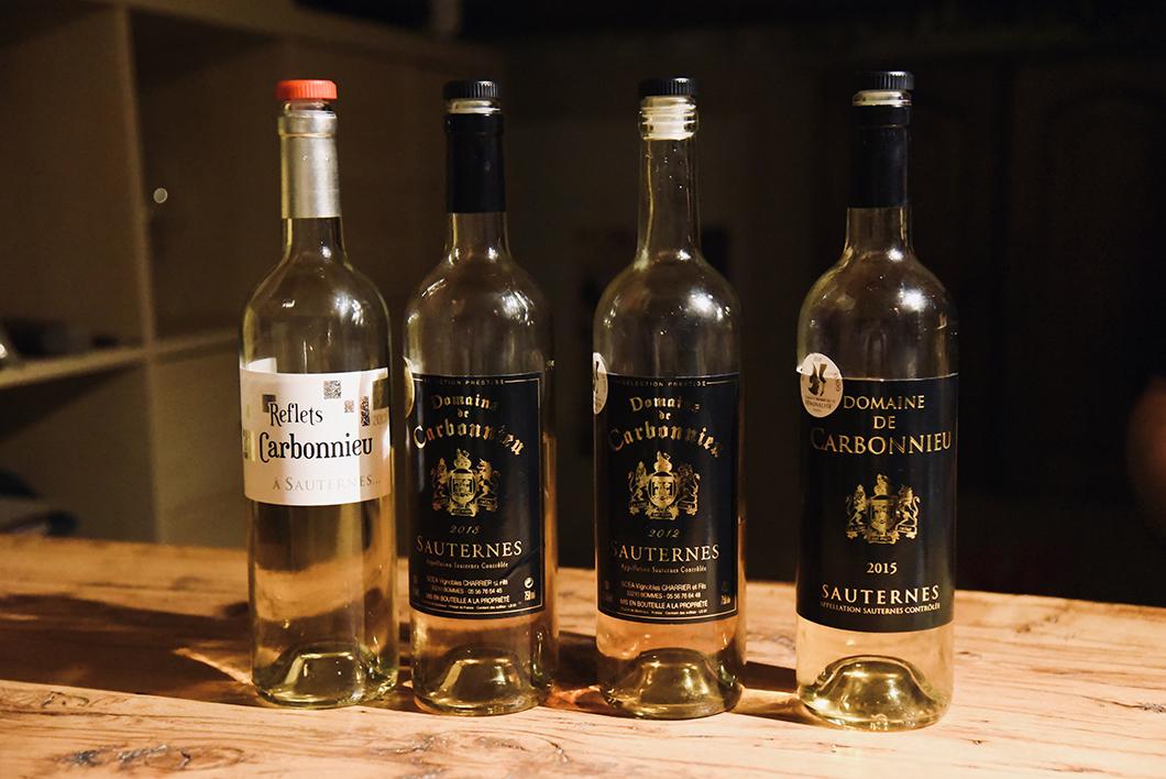 Dégustation au Domaine de Carbonnieu - Route des Vins de Bordeaux
