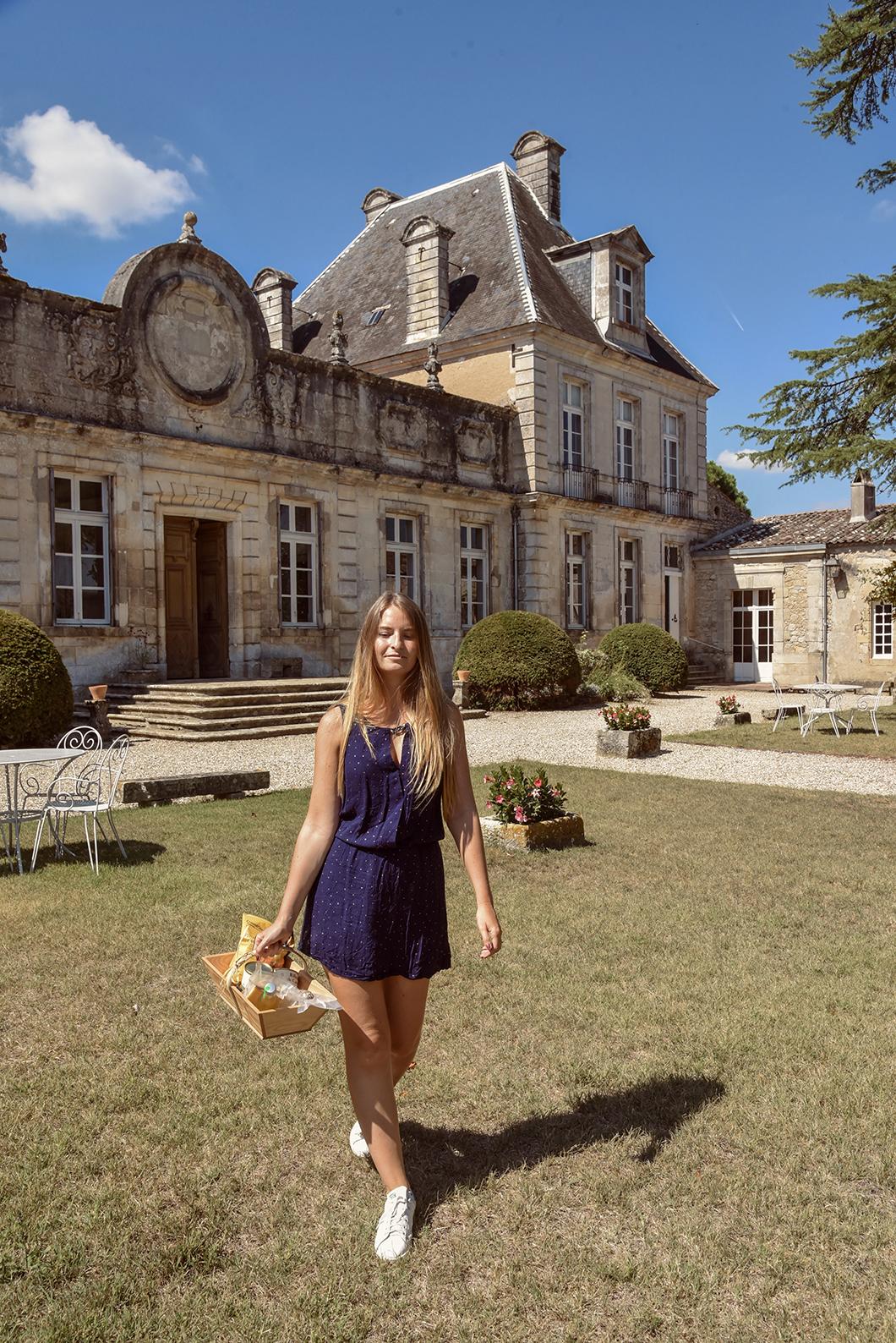 Pique nique chic au Château de Cérons