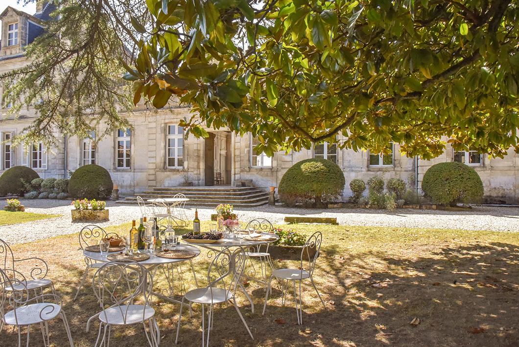 Pique nique chic au Château de Cérons - Activité insolite sur la Route des Vins de Bordeaux