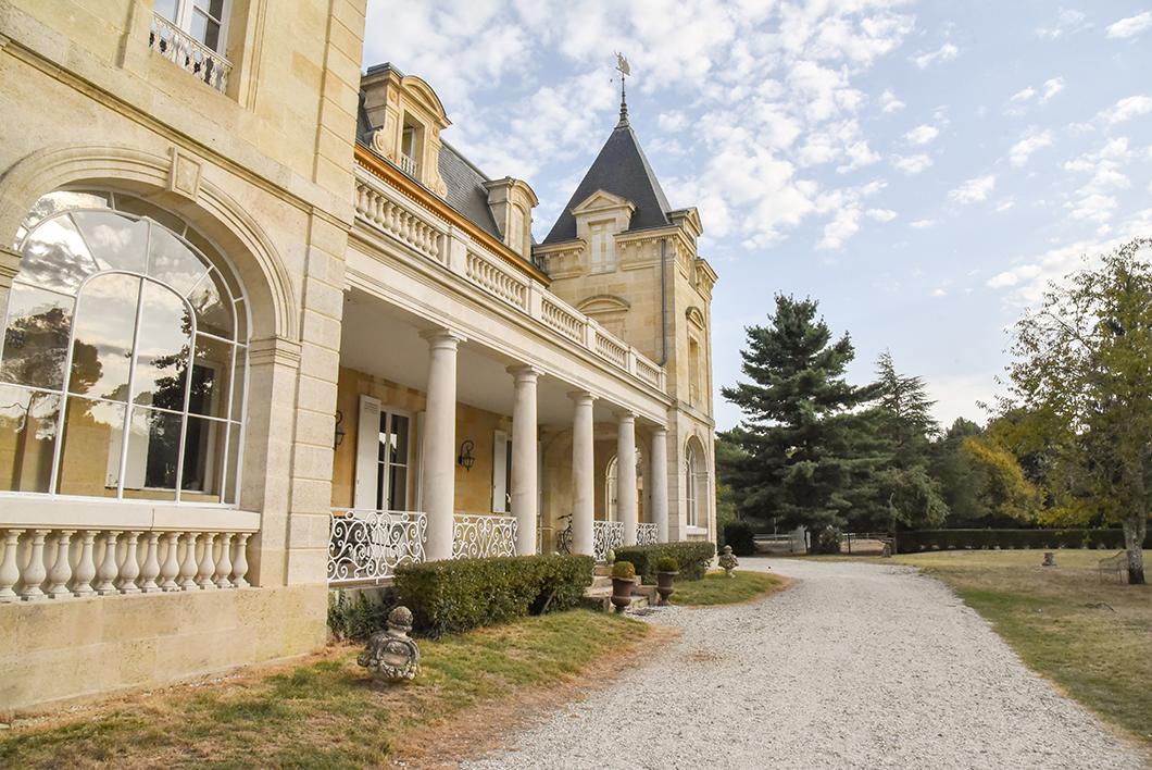 Château de Léognan, chambre d'hôtes sur la Route des Vins de Bordeaux