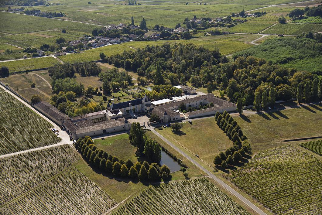 Survol du Château Suduiraut (1er Grand Cru Classé de Sauternes en 1855) en ULM avec le Château Vénus - Activité insolite sur la Route des Vins de Bordeaux en Graves et Sauternes