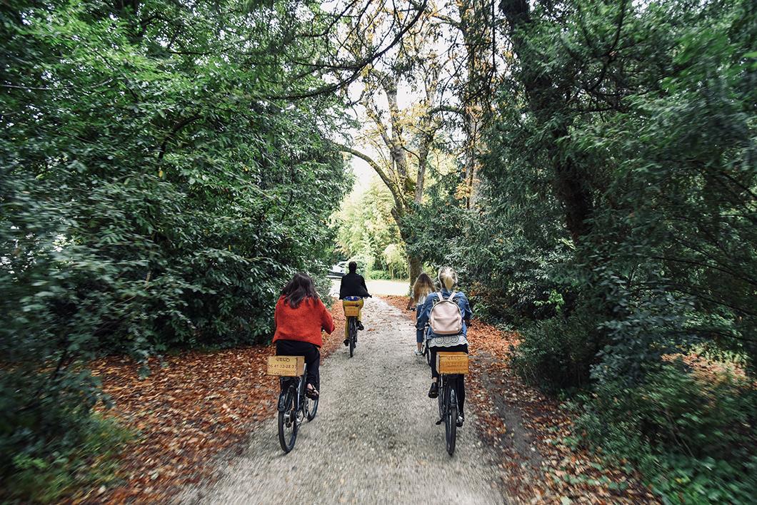 Balade à vélo au Château Bardins - Cadaujac