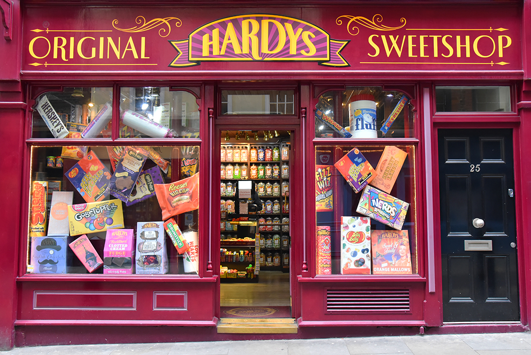 Hardys Original Sweetshop - Boutique bonbons Harry Potter à Londres
