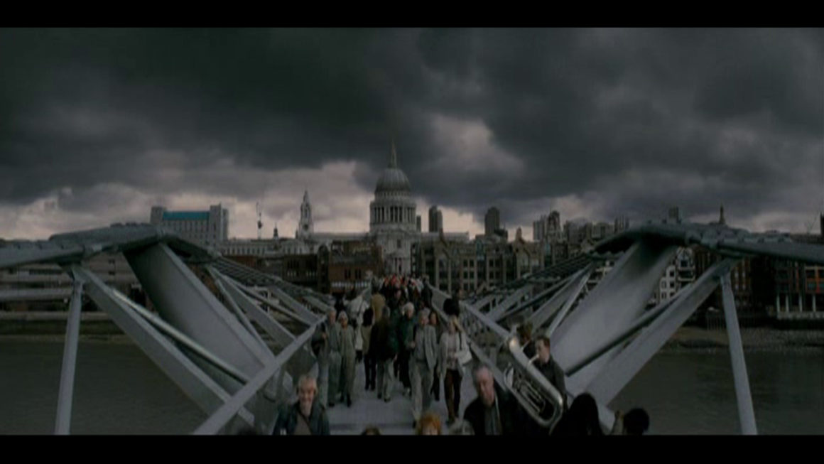 Millennium Bridge - Lieux tournage de Harry Potter à Londres