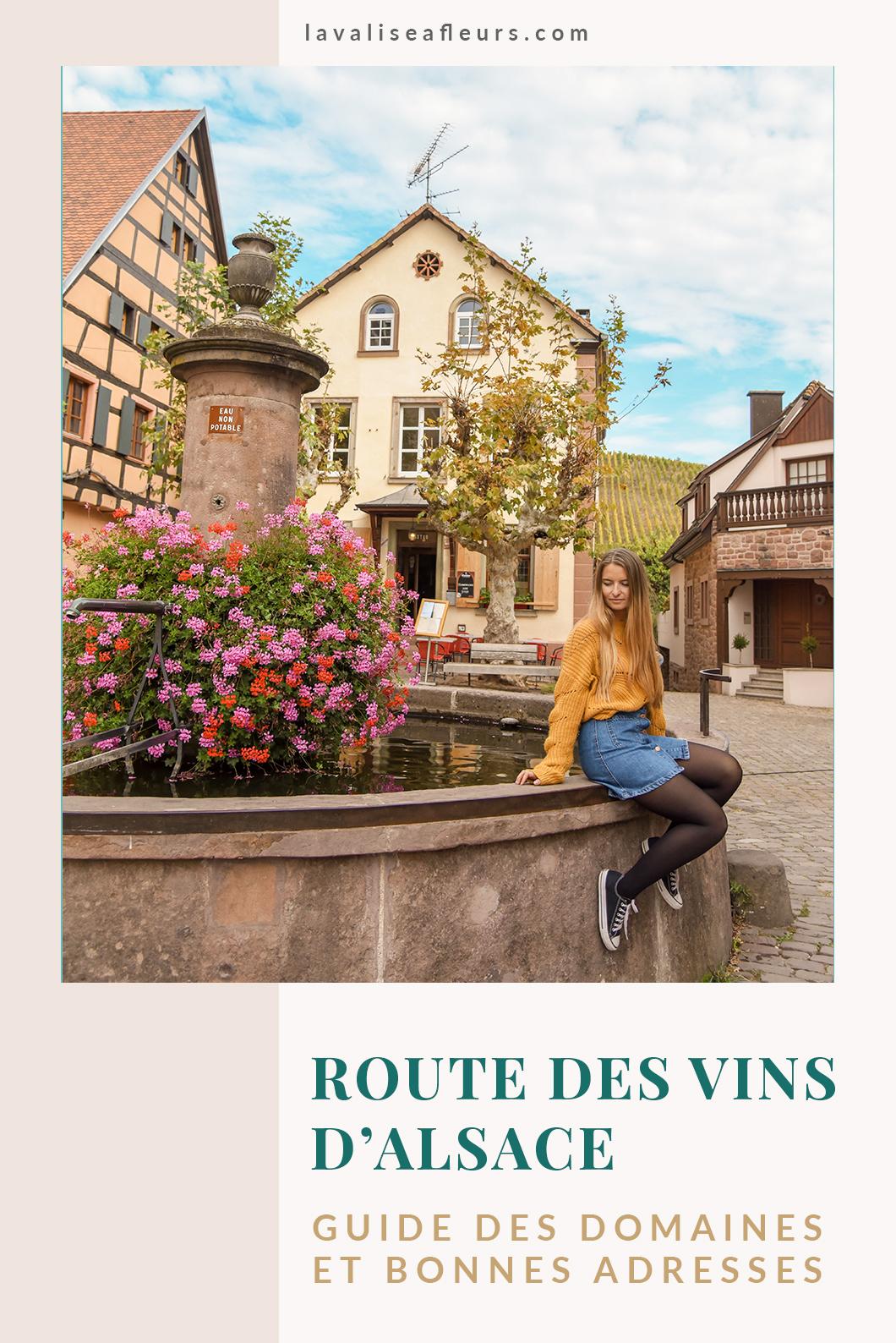 Bonnes adresses et domaines de la route des vins d'Alsace