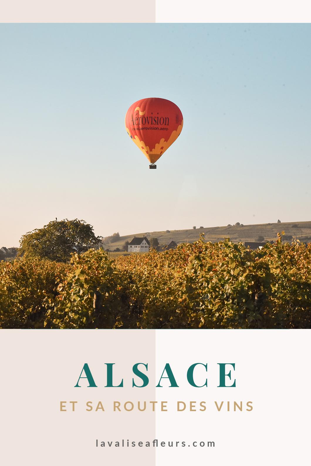 Faire la route des vins d'Alsace