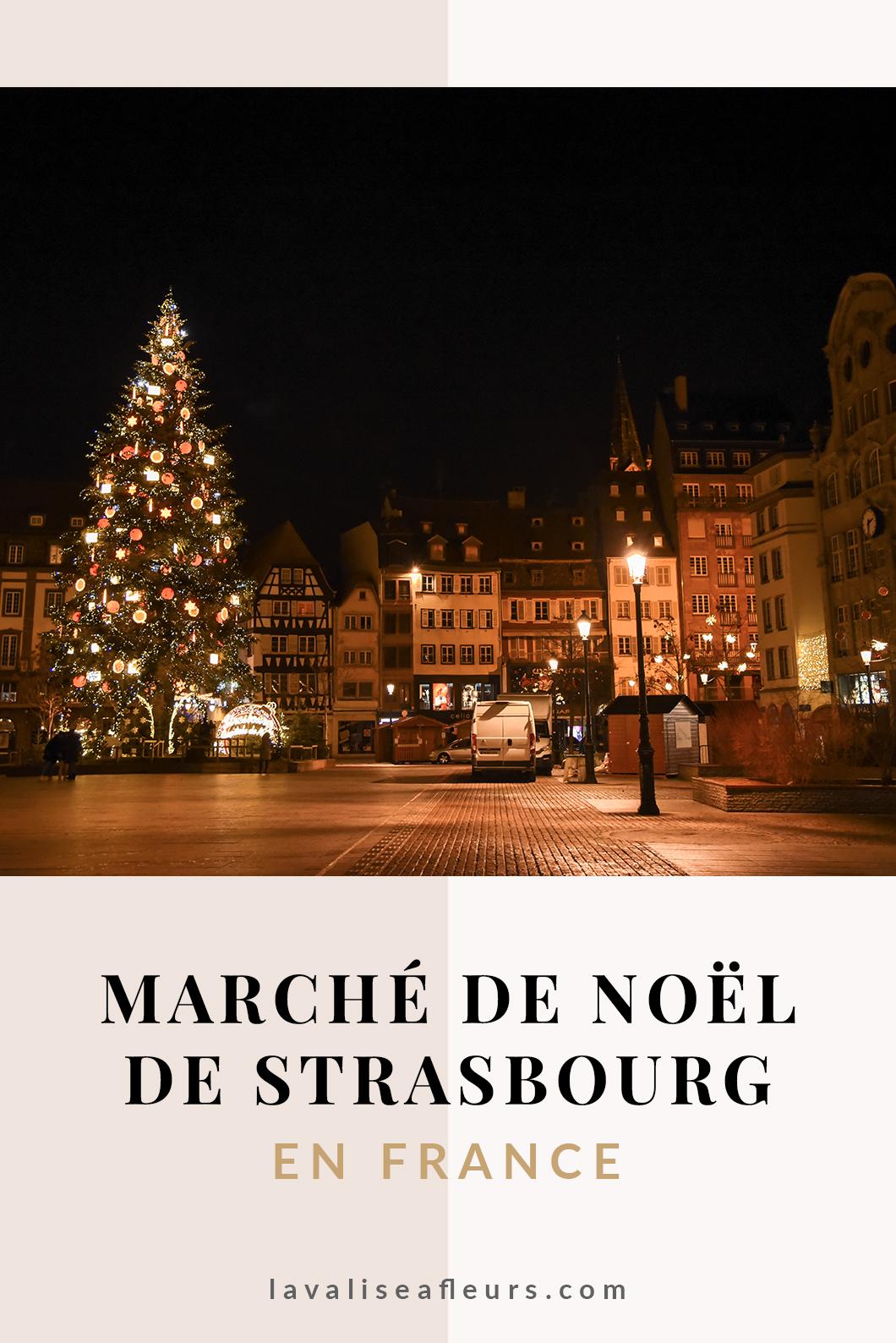 Le marché de Noël de Strasbourg en France