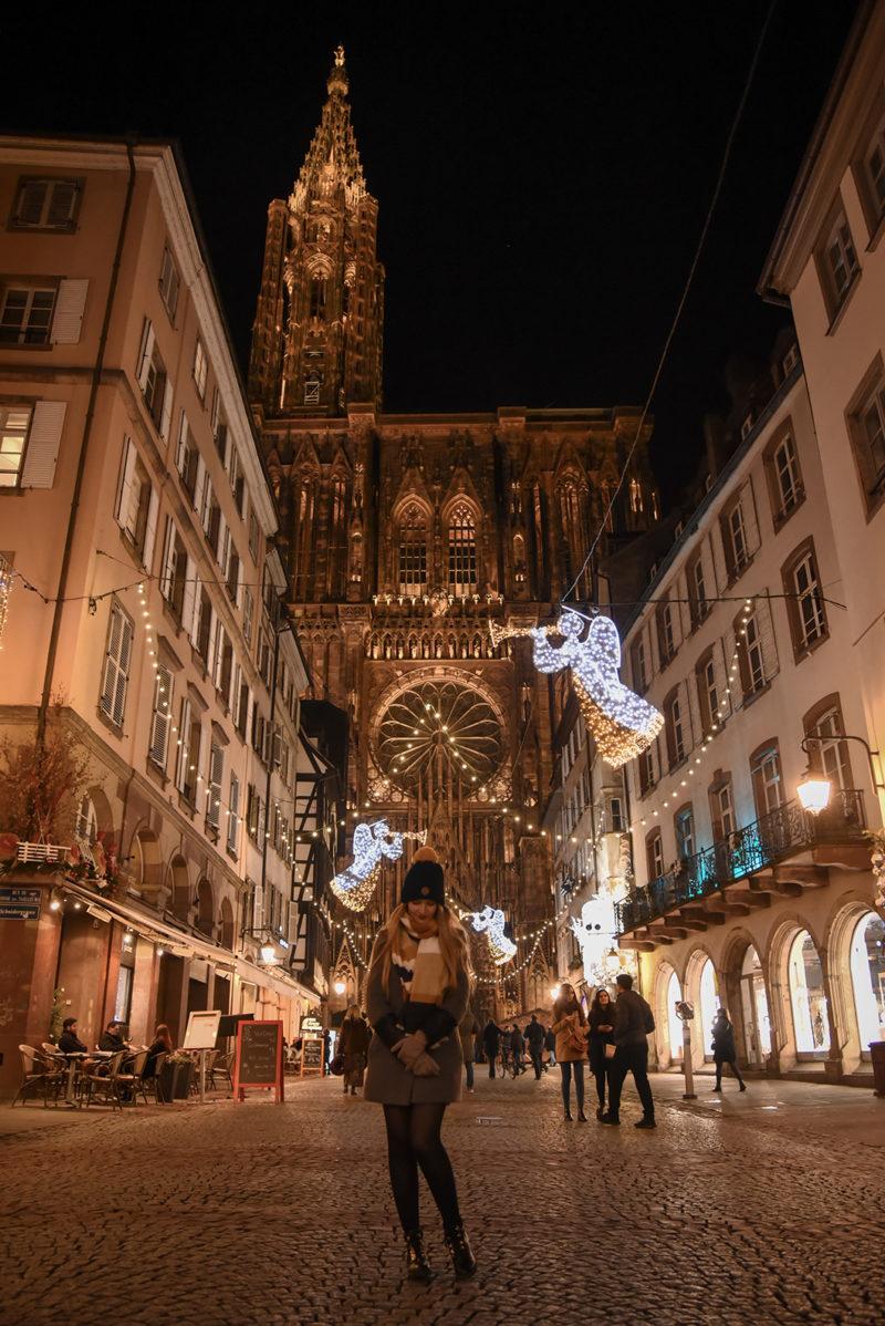 Place de la Cathédrale - Marché de Noël de Strasbourg
