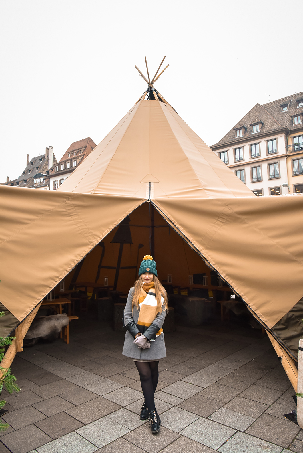 Place Gutenberg - marché de Noël de Strasbourg