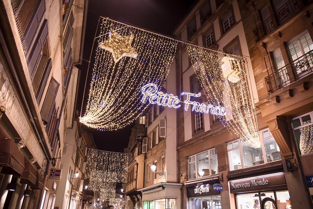 La petite France - marché de Noël de Strasbourg