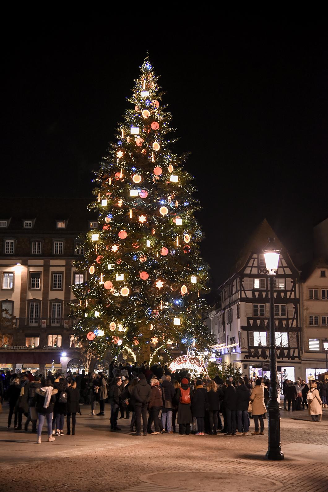Place Kleber - Marché de Noël de Strasbourg