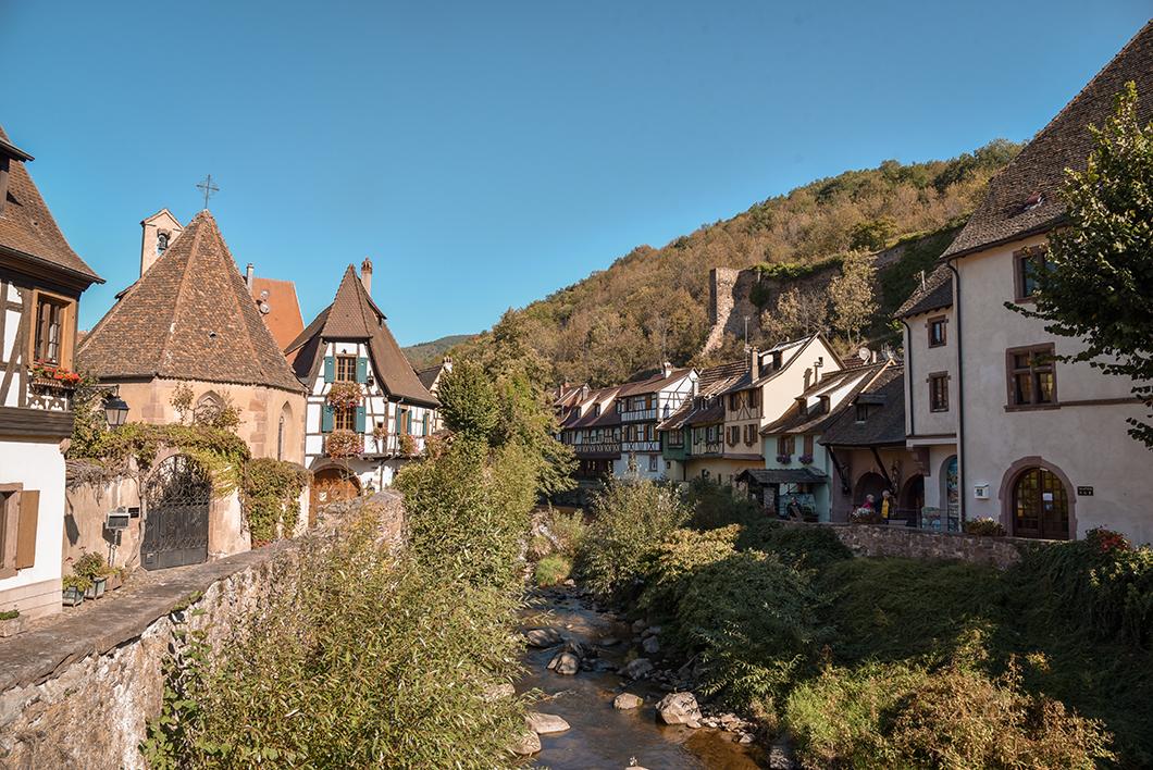 Kaysersberg - l'Alsace en vélo