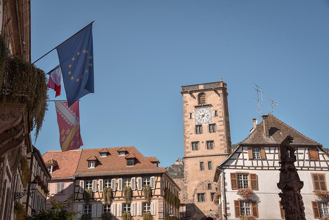 Ribeauvillé - l'Alsace en vélo