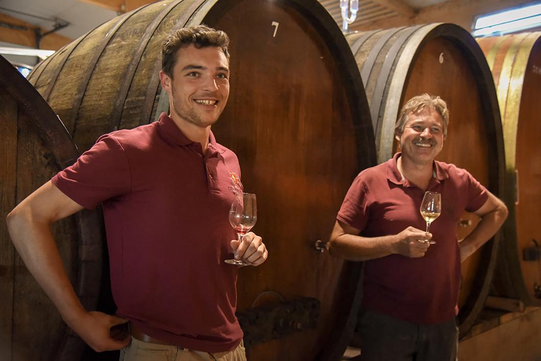 Domaine Charles Frey - route des vins d'Alsace