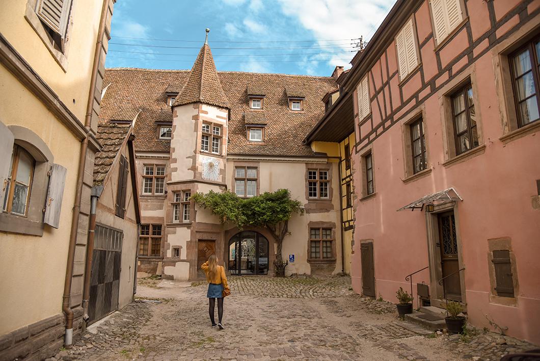 Visite de Riquewihr - route des vins d'Alsace