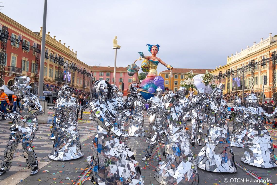 Carnaval de Nice - photo : www.nicecarnaval.com