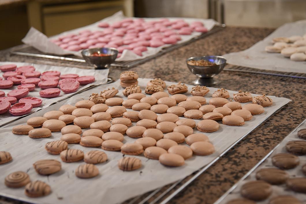 Cours de macarons aux Grands Buffets