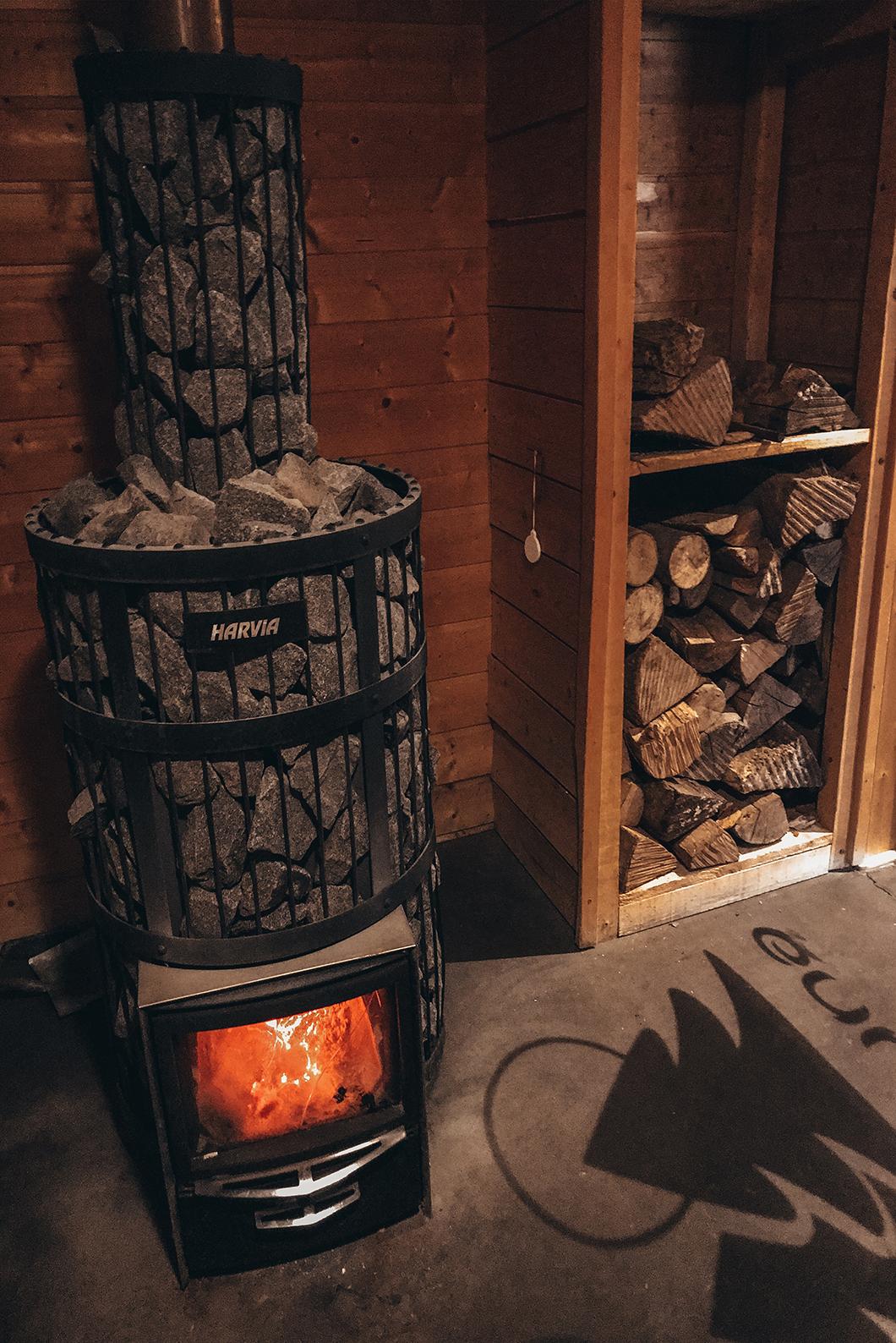 Sauna chez Oréade Balnéo à Saint-Pierre de Chartreuse